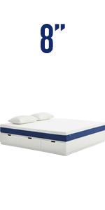 8'' queen mattress