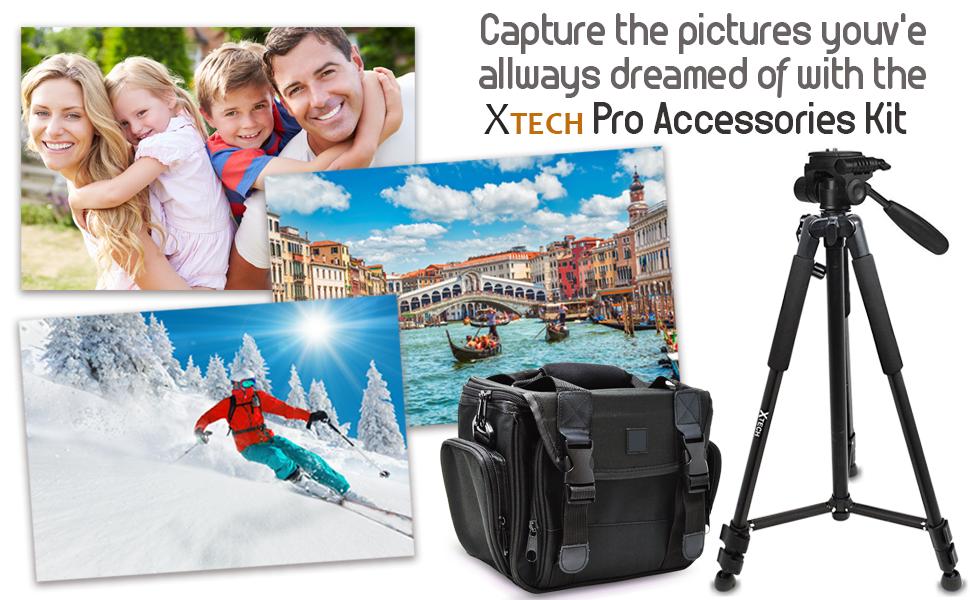 a7R II a7S II NEX-5T RX10 IV DSC-RX10 III SLT-A57 A58 A65V A77V A99V Cameras 256gb SD Memory More Tripod Ultimate Accessory Kit for Sony a12800 a6500 a6300 a5100 a5000 Alpha a7 II a7R Case