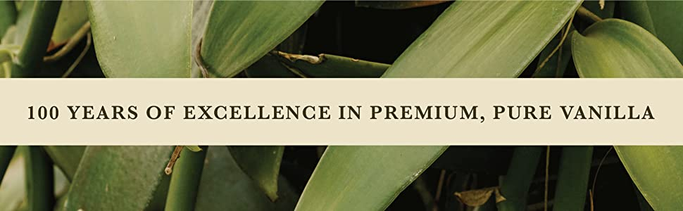 100 Years of Excellence in Premium, Pure Vanilla
