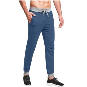 YTD Mens  Gym Jogger Pants, Men's Casual Slim Fit Workout Bodybuilding Sweatpants with Zipper Pocket