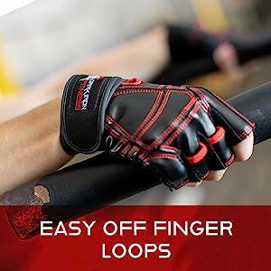 Dark Iron Fitness Gloves