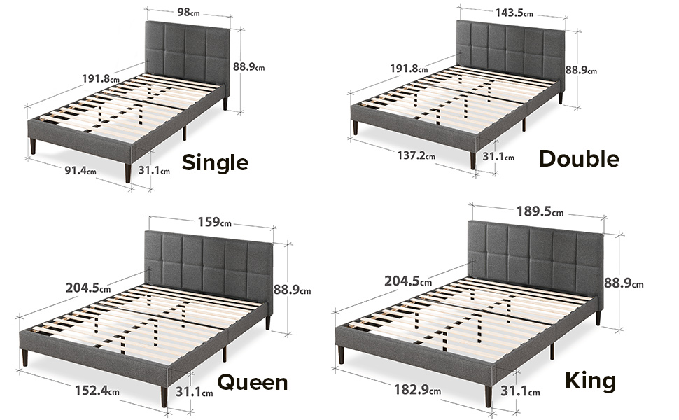 Bed Frame double queen size king