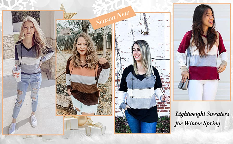 hooded sweaters for women
