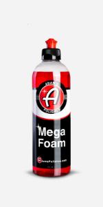 Adam's Mega Foam Car Shampo Cleaning Soap