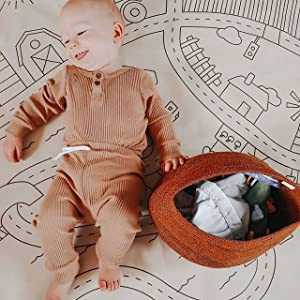 newborn infant baby boy long sleeve romper top and pants set