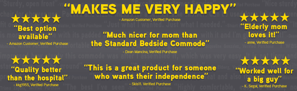 """real quoted reviews taken from verified purchases listed below. One states, """"best option available"""""""