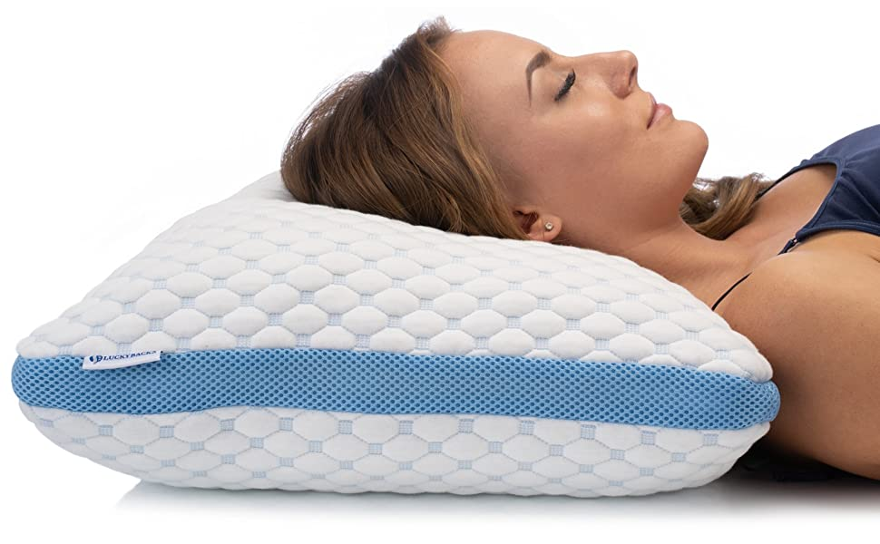 LUCKYBACKS ORTHOPAEDIC PILLOW Memory