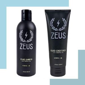 shampoo and conditioner beard