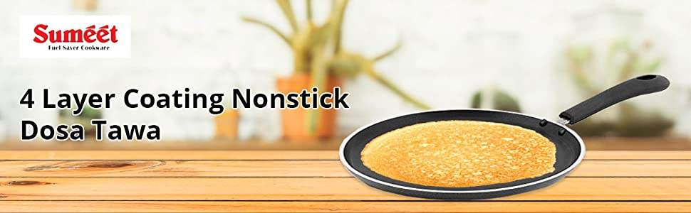 Sumeet 4mm Nonstick Dosa Tawa