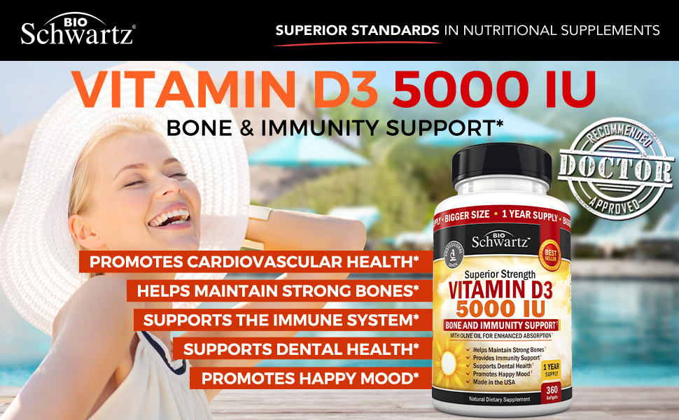 Doctor Recommended Vitamin D