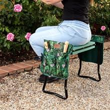Evoke creativity - Use as a seat to prune amp; nurture your beautiful garden
