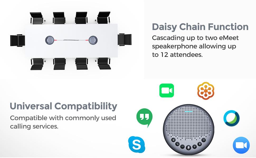 eMeet Luan Bluetooth Speakerphone