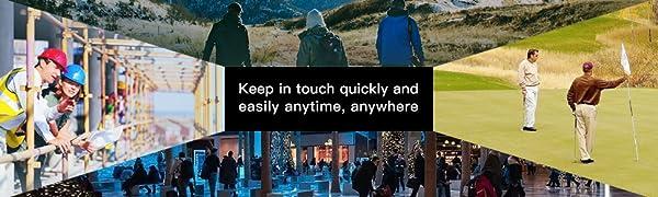 Mantenerse en contacto rápida y fácilmente en cualquier momento y en cualquier lugar