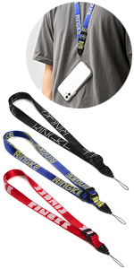 Lettering twill nylon to secure the device, keys, game consoles from accident drops