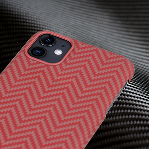 pitaka phone case magnetic light slim thin lifeproof kevlar carbon aramid fibre lightweight skinny