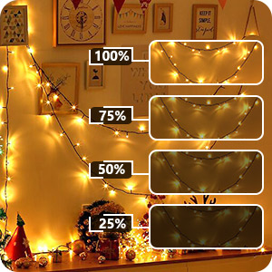 christmas lights bedroom
