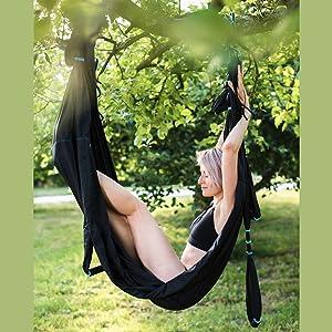 yoga trapeze swing aerial yoga trapeze kit ceiling yoga body six swing adult swivel trapeeze trapese