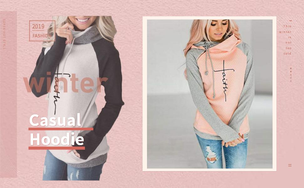 women t shirts,faith print shirt,faith print hoodies,women pullover