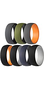 2 Layer Round Rubber Engagement Bands