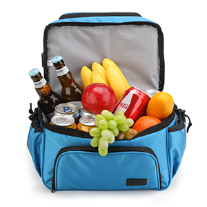 colors lunch bag