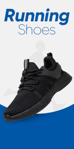 Men's Road Running Shoes Trainers Casual Mesh Athletic Sneakers for Gym Sports Fitness
