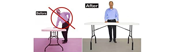 folding table risers, extenders,table risers, table lift, table extenders