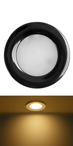 down light with black shell