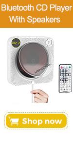 Bluetooth cd player