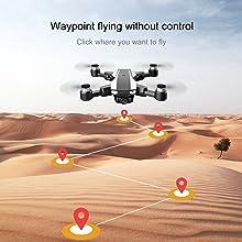 Waypoint Uncontrolled Flight