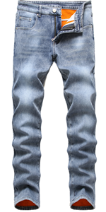 mens skinny jeans straight fit relaxedwork bootcut bke tapered fashion flex waist ripped