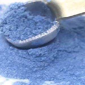 blue luster dust, blue dusting powder, blue petal, blue sheen, blue glitter, blue food powder