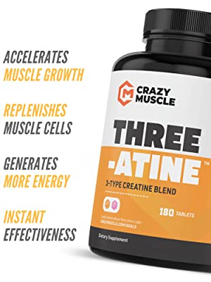 creatine monohydrate pills bulk