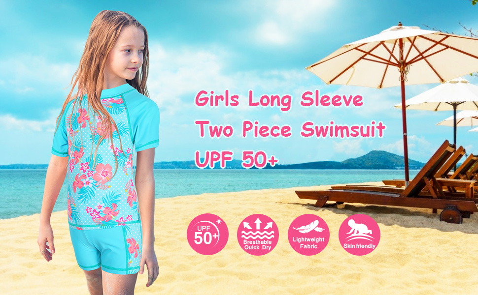 girls swimsuits two piece 7-16