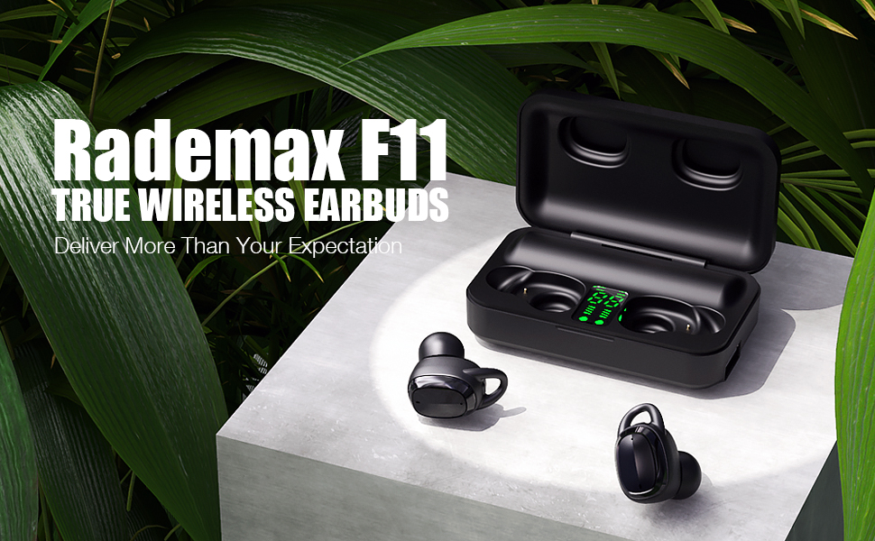 Bluetooth earbuds F11