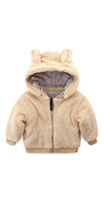 Baby Toddler Girl Sherpa Jacket