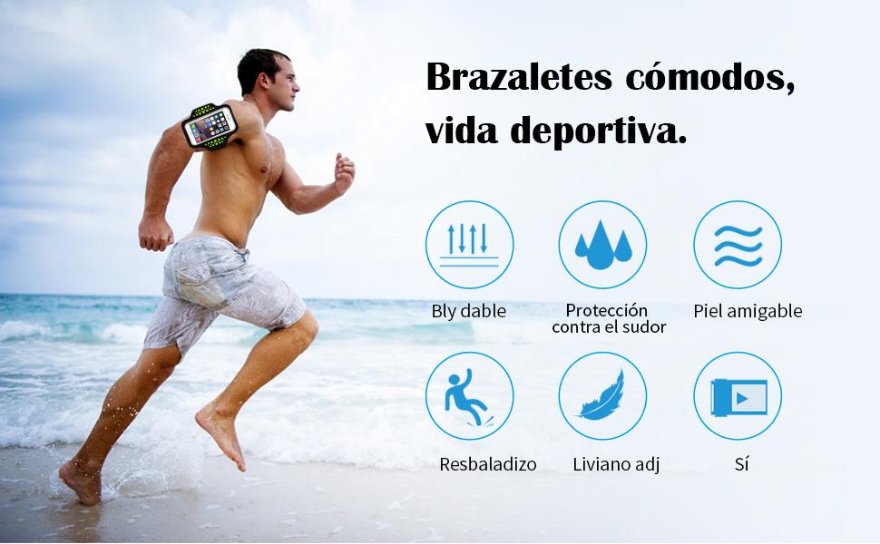 Brazalete Deportivo, Bandas para el Brazo Running Armband para ...
