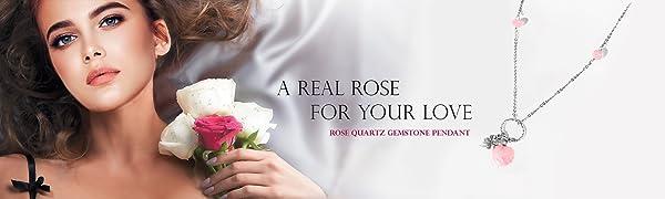 Rose Quartz Pendant