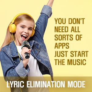 lyric elimination mode
