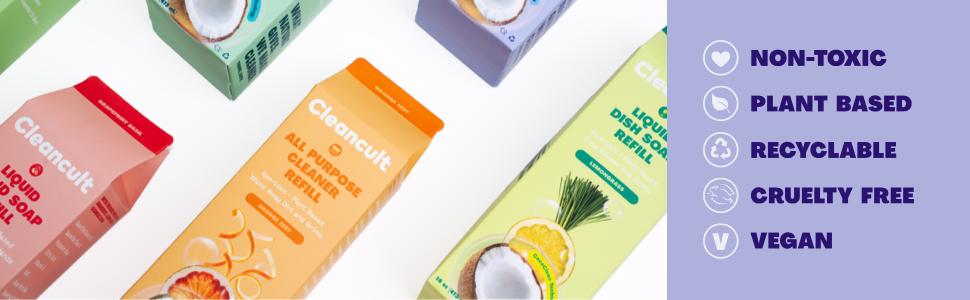 handsoap refills vegan cruelty free soap