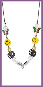 smiely necklace