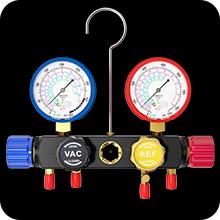 ac manifold gauge