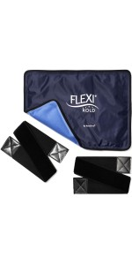 FlexiKold standard with straps gel cold ice pack therapy