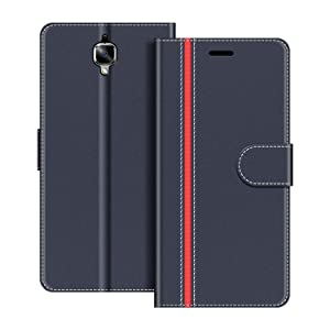 COODIO Funda OnePlus 3 con Tapa, Funda Movil OnePlus 3, Funda ...