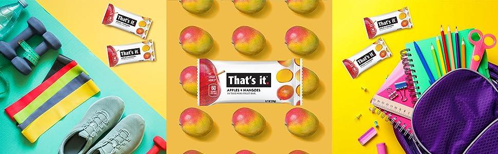 mango fruit bars