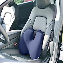 Cushion Lab Lumbar Pillow Using with Car Seat