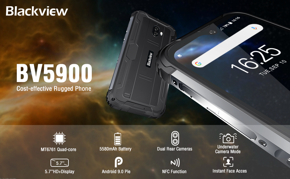 BV5900 Rugged Smartphone