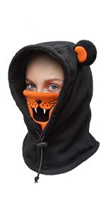 Kids Balaclava Winter Hat/Tiger