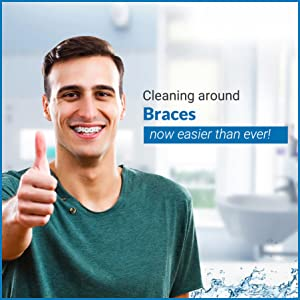 Braces Cleaning, Brushing Braces, Oral care