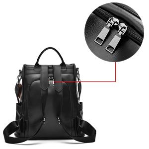 Double Back zipper Design