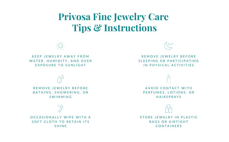 Fine Jewelry, Care Tips, Privosa, Diamonds
